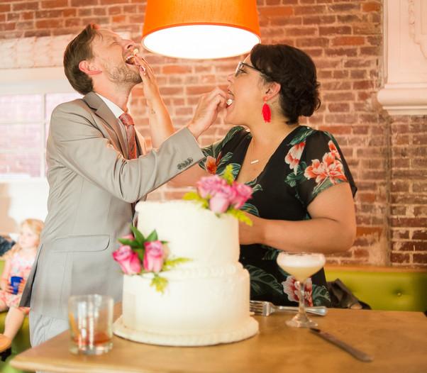 Wedding Cake Face Smash