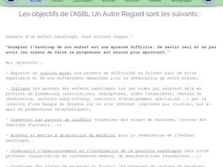 L'ASBL Un Autre Regard obtient son site revu et revisité