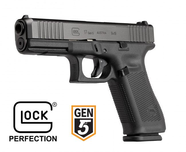 Glock 17 Gen 5, calibre 9x19
