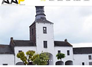 L'Atelier d'Architecture PONCELET et Website Creation by RG travaillent ensemble ...