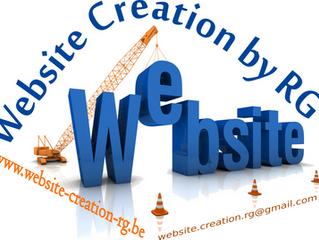 Non, ce n'est pas un poisson ! Inauguration du site web https://www.website-creation-rg.be/