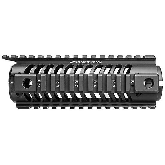 NFR Carbine Length M16 Aluminum Quad Rail