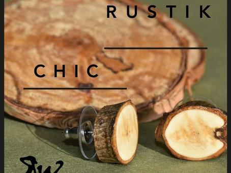 La collection RUSTIK CHIC par Rustik Work sera DISPONIBLE dès 1 FÉVRIER!