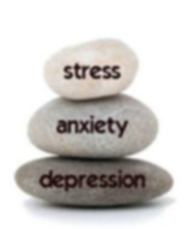 Stress, anxiety and derpression rock ima