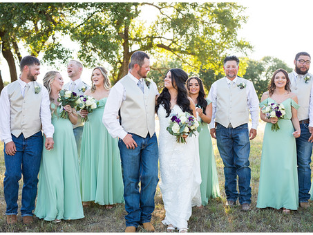 Summer Rustic Barn Wedding at Sparrow Creek Ranch