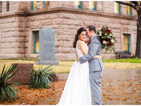 Christie & Dustin Courthouse Wedding