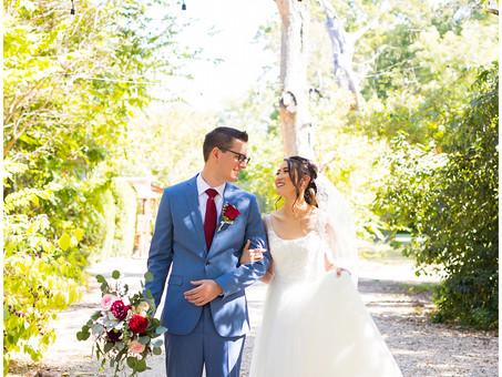 Woodsy Vibrant Fall Wedding   Mr & Mrs Miller