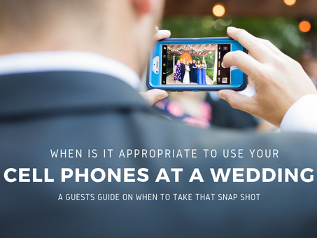 When is it Appropriate to Use Your Phone at a Wedding