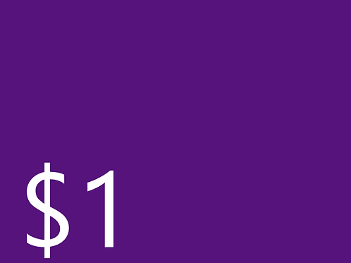 Club Dues $1