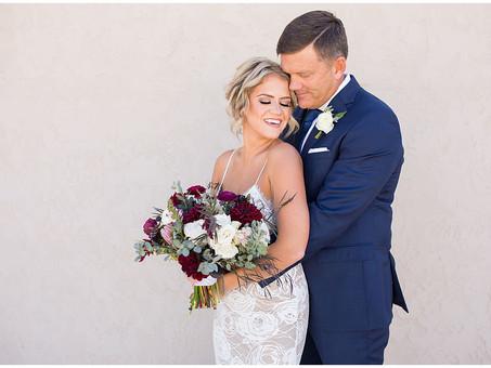 October Wedding at D'Vine Grace Vineyard | Brian & Jennifer Rose