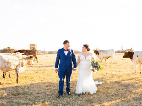 Ranch Style Wedding in Texas | Brittany & Ryan