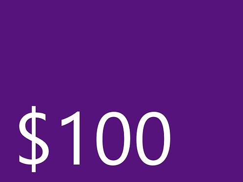 Club Dues $100