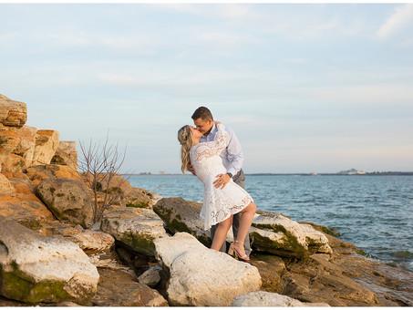 Lakeside Engagement Session | Hannah & Caleb