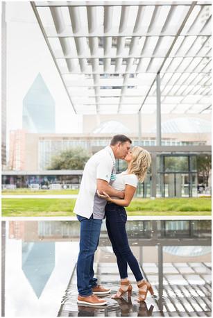 Downtown Dallas Engagement Session | Jennifer & Brian