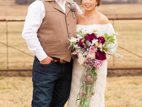 Mr & Mrs Miller- Double K Rustic Ranch Wedding in Gainesville, Texas