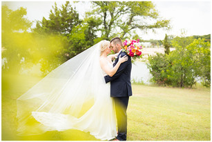 Colorful Summer Wedding at Stillwater Meadow   Aledo, Texas