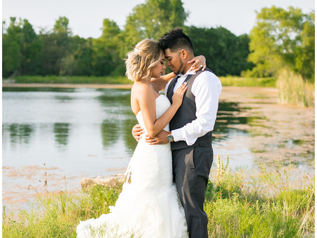Modern Farmhouse Barn Wedding | Moriah + Vidal
