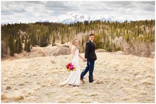Colorful Colorado Wedding