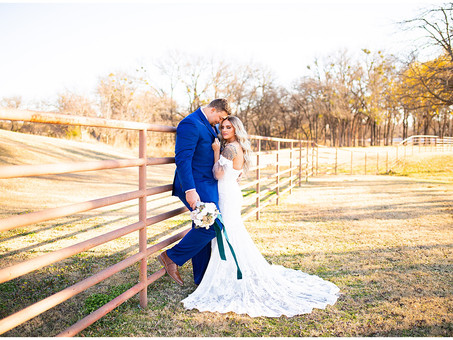 Vibrant Winter Wedding at Lucky Spur Ranch