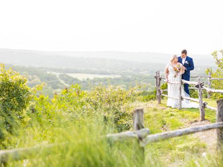 September Wedding at Dove Ridge Vineyard