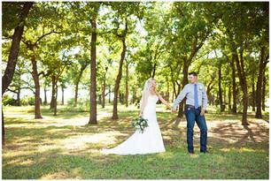 Backyard Springtown Wedding