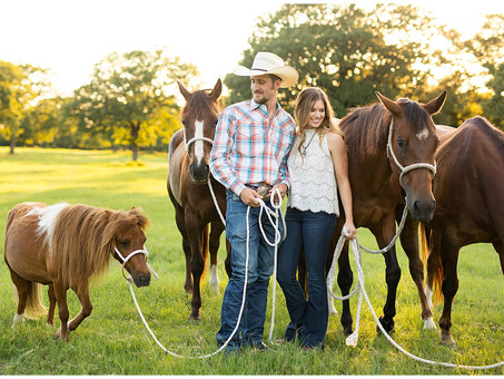 Texas Country Engagement Session