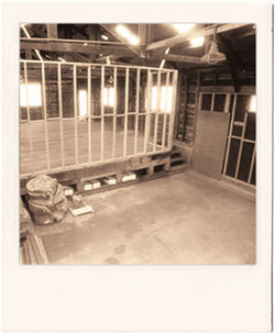 photos scaffolding before