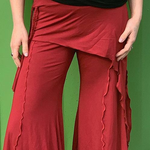 Red Hip Skirt