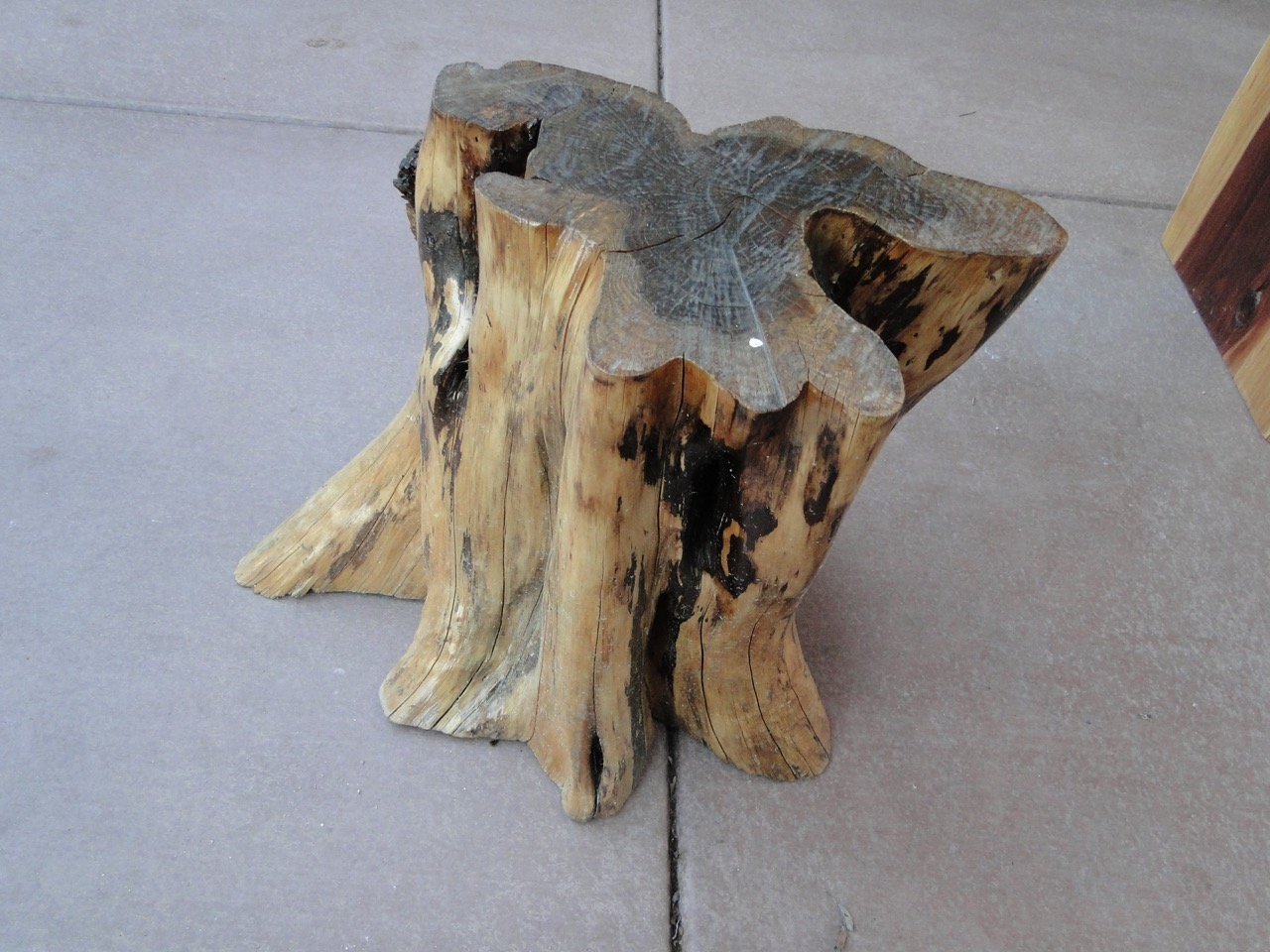 A1 Stump Reclaimed Furniture - 098