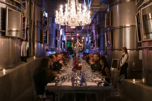 NAPA fnacy dinner in winery .jpg