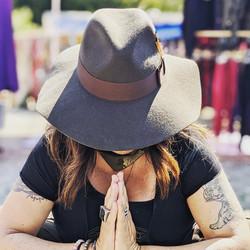 Allison Floppy Wool Hat