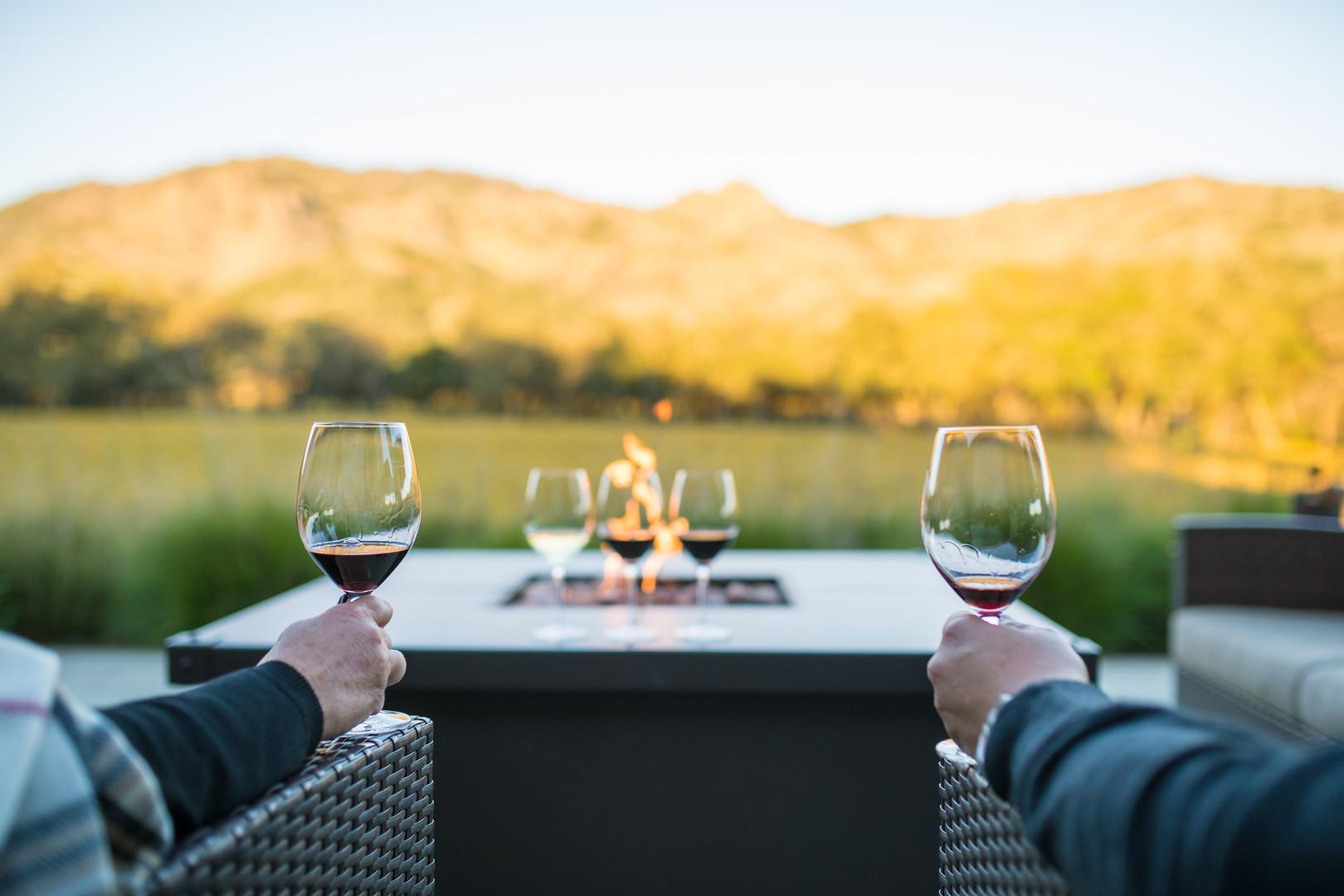 NAPA wine drinking looking at hills.jpg