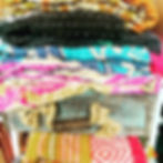 Packing all the new Kantha Throws for ma