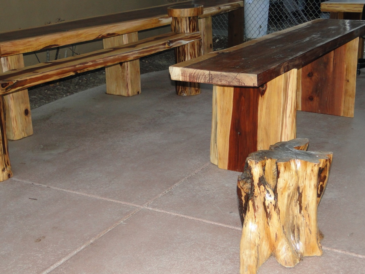 A1 Stump Reclaimed Furniture - 120