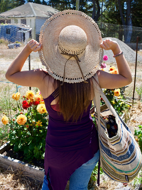 Sunari Boho Hats: Amy Summer Womens Raffia Hat