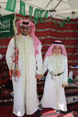Saudi Arabian Sword Dancers
