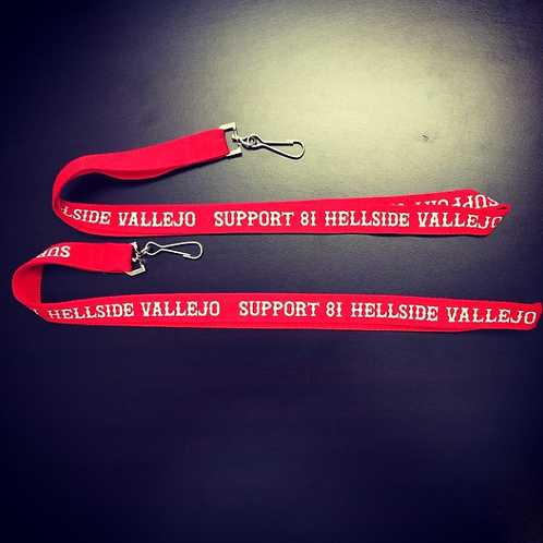 LANYARD - SUPPORT 81 HELLSIDE