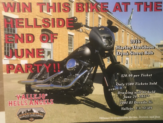WIN this bike at the 2017 End of June Party!