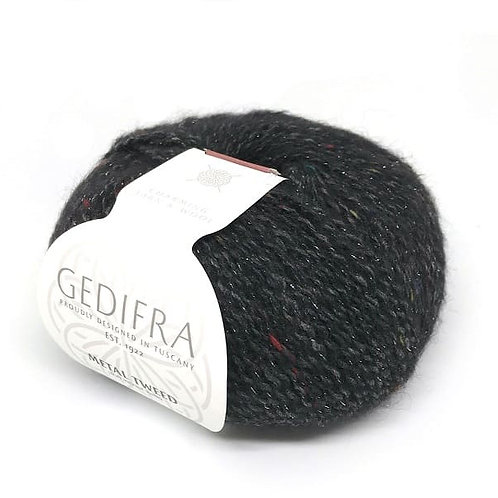 METAL TWEED Gedifra 753 (черный)
