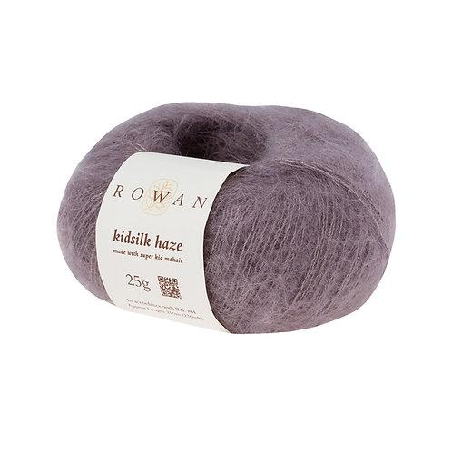 KidSilk Haze Rowan 589 (Majestic/серебристо-розовый)
