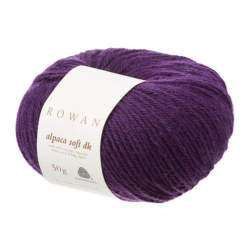 Alpaca Soft DK Rowan 208 (autumn purple)