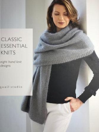 """Книга """"Essentail Knits. Classic Women"""", дизайн-студия Quail Studio"""