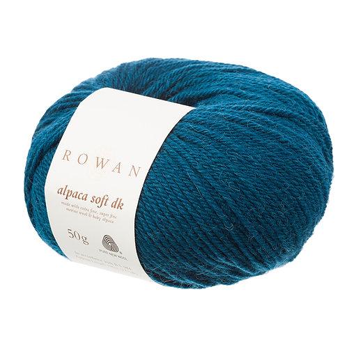 Alpaca Soft DK Rowan 213 (green teal)