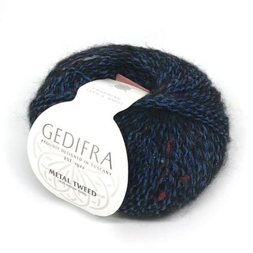 METAL TWEED Gedifra 757 (синий)