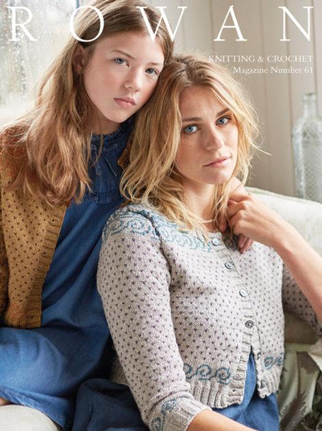 "Журнал Rowan ""Knitting & Crochet Magazine 61"""