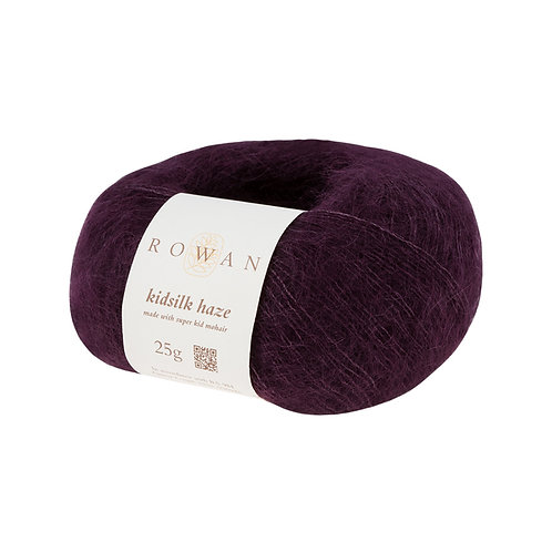KidSilk Haze Rowan 641 (Blackcurrant/черная смородина)