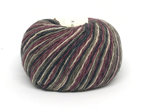 ALLINO multicolor BC Garn 809 (бордовый, серый)