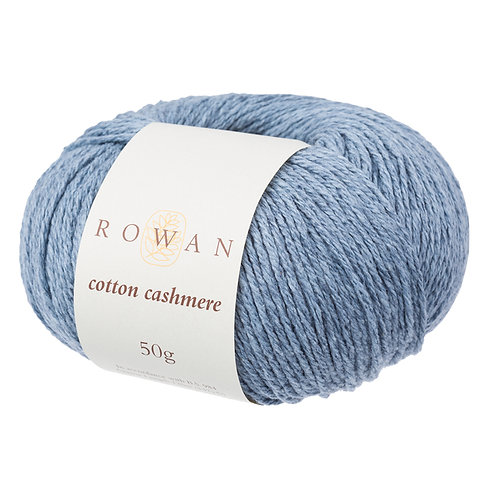 Cotton Cashmere Rowan 222 (faded denim)