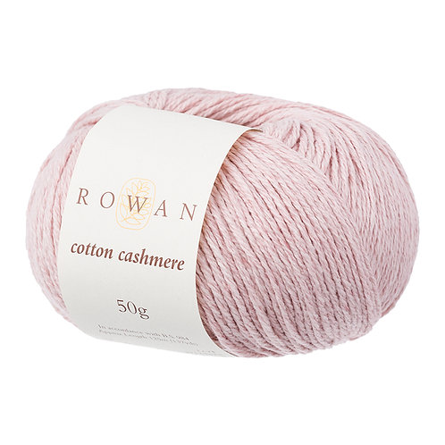 Cotton Cashmere Rowan 216 (pearly pink)