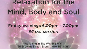 New guided meditation classes
